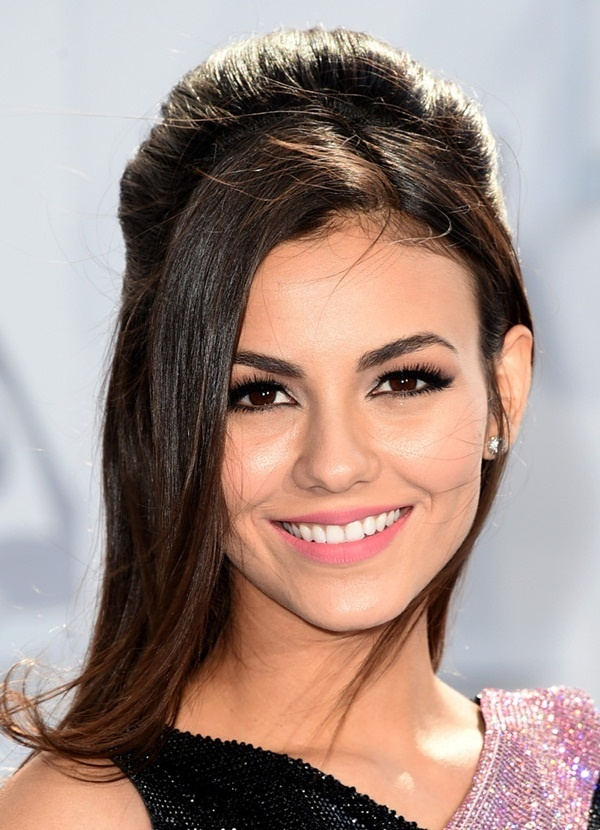 Long and Short Celebrity Hairstyles56-victoria justice hairstyle