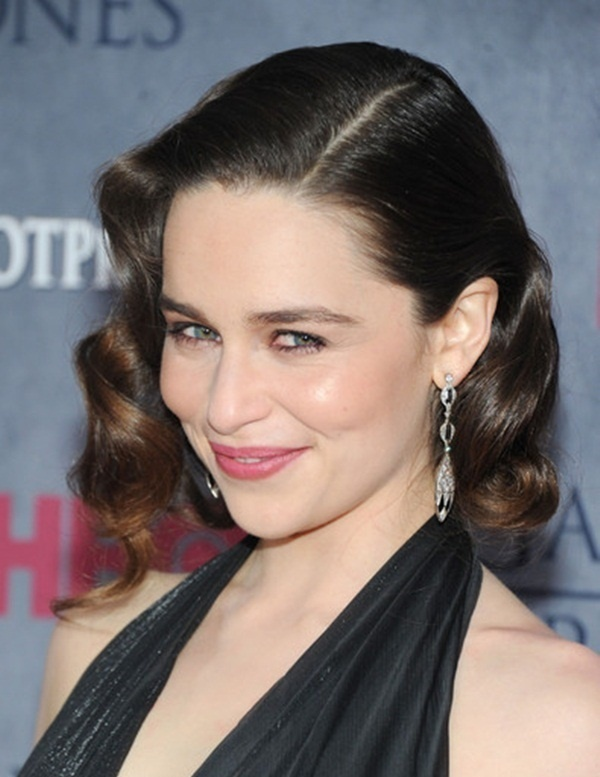 Long and Short Celebrity Hairstyles68-emilia clarke hairstyle