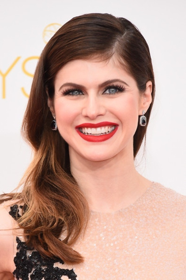 Long and Short Celebrity Hairstyles76-alexandra daddario hairstyle