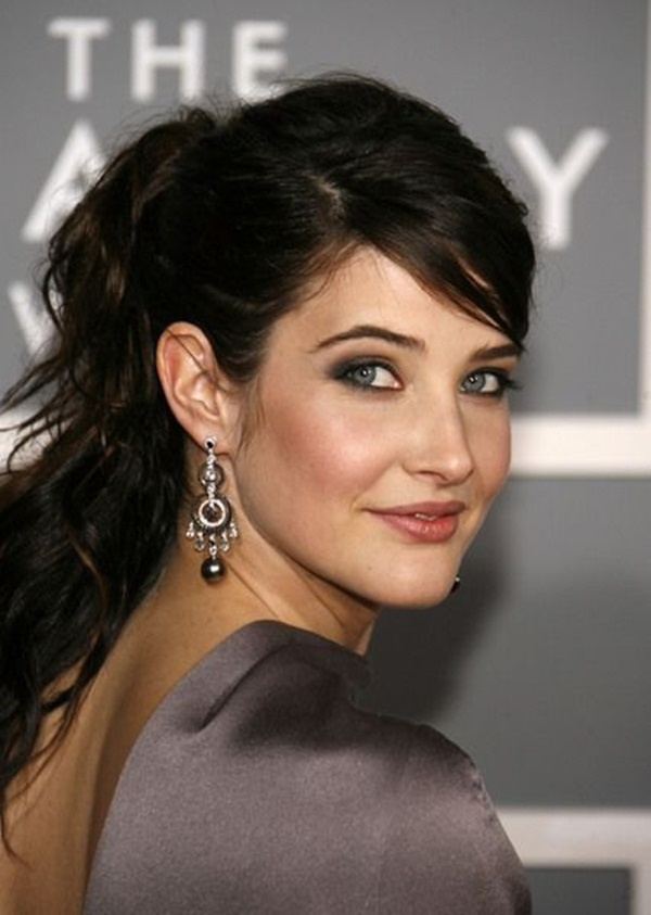 Long and Short Celebrity Hairstyles87-cobie smulders hairstyle