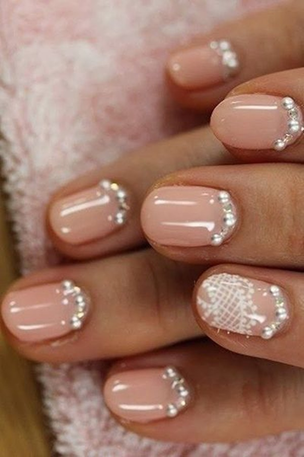 Simple Winter Nail Art Ideas for Short Nails202