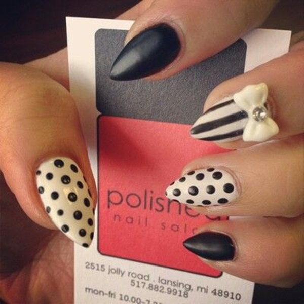Simple Winter Nail Art Ideas for Short Nails206