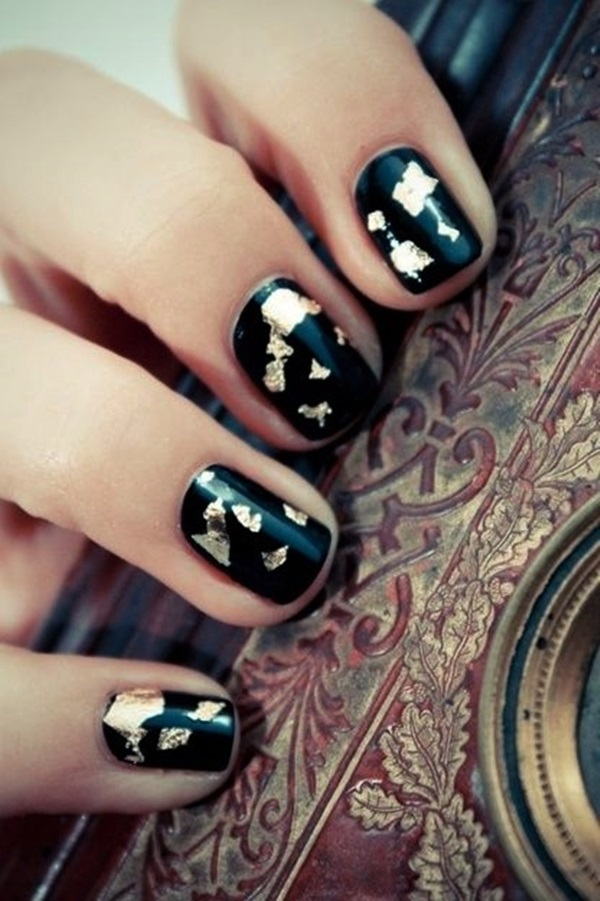 Simple Winter Nail art Ideas for Short Nails (107)