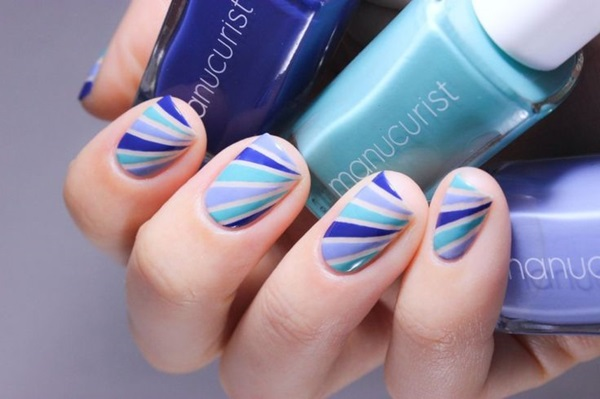 Simple Winter Nail art Ideas for Short Nails (27)