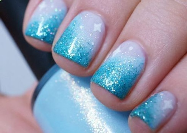 Simple Winter Nail art Ideas for Short Nails (32)