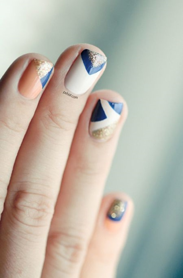 Simple Winter Nail art Ideas for Short Nails (34)