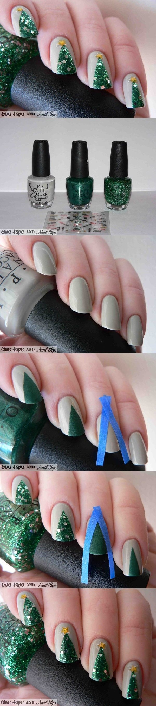 Simple Winter Nail art Ideas for Short Nails (37)
