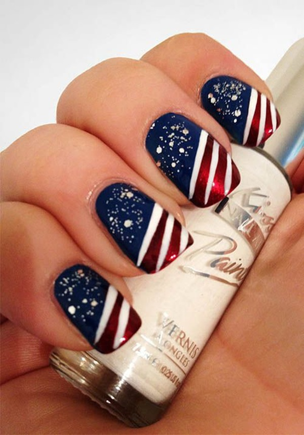 Nail Design Ideas For Short Nails prev next easy cute nail designs for short nails step Simple Winter Nail Art Ideas For Short Nails 39