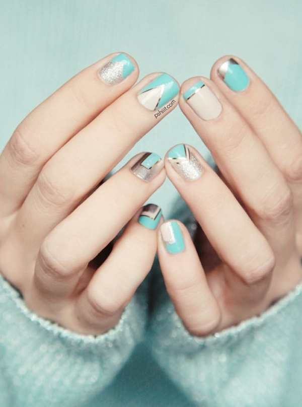 Simple Winter Nail art Ideas for Short Nails (46)