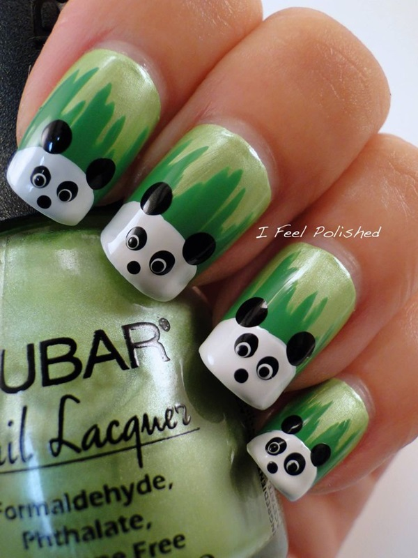 Simple Winter Nail art Ideas for Short Nails (48)