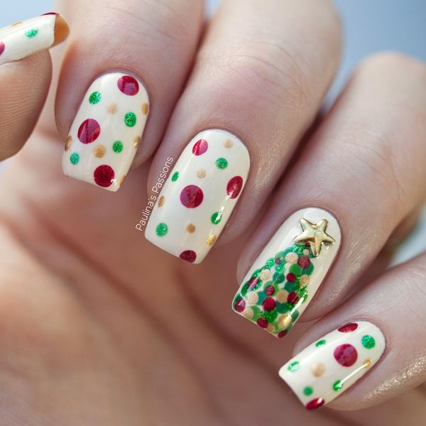 Simple Winter Nail art Ideas for Short Nails (49)