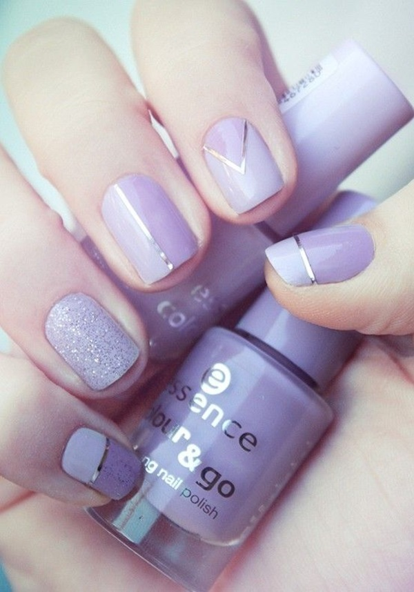 Simple Winter Nail art Ideas for Short Nails (53)
