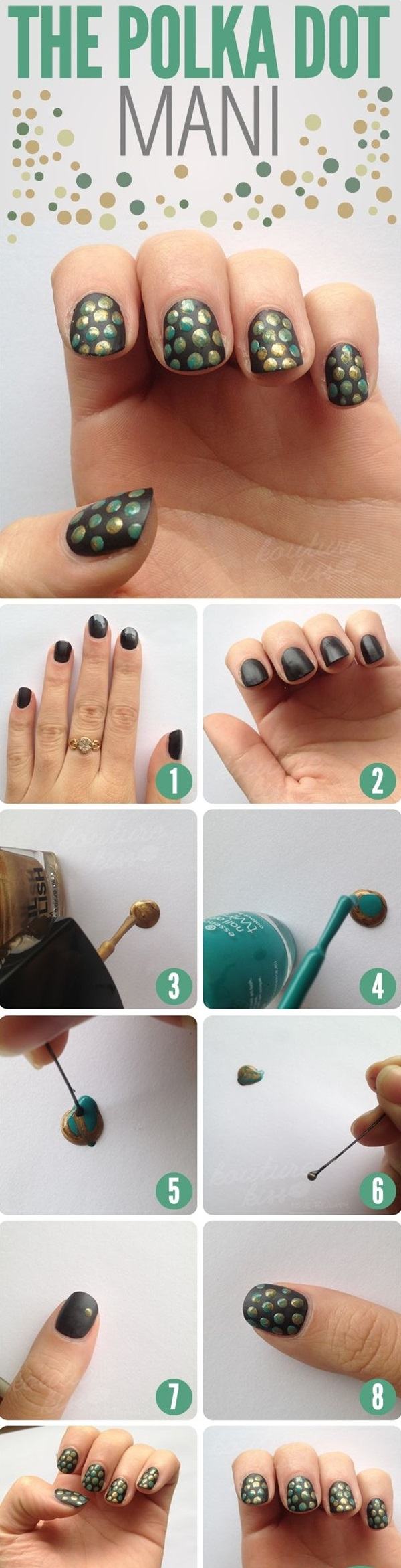 Simple Winter Nail art Ideas for Short Nails (61)