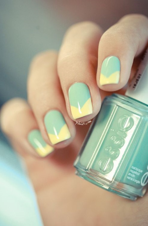 Simple Winter Nail art Ideas for Short Nails (67)