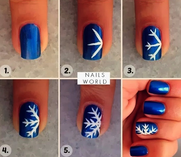 Simple Winter Nail art Ideas for Short Nails (69)