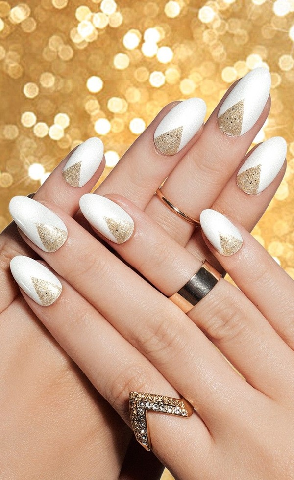 Simple Winter Nail art Ideas for Short Nails (73)