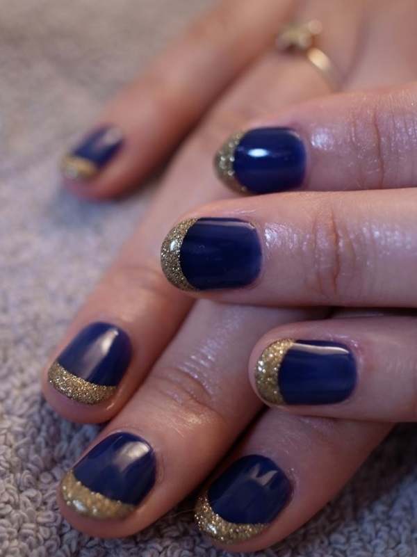 Simple Winter Nail art Ideas for Short Nails (89)