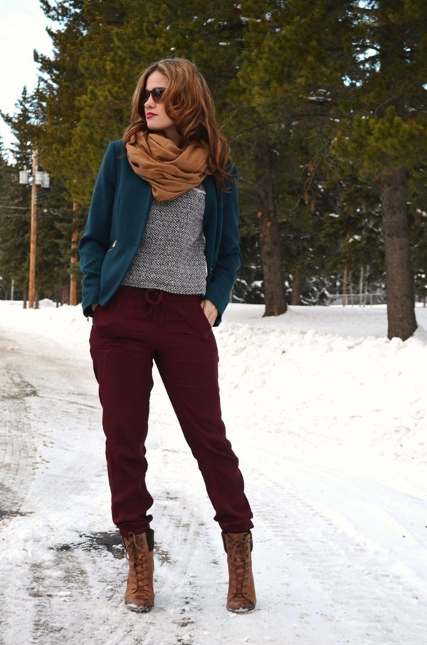 101 Cozy Winter Fashion Outfits for Women in 2015