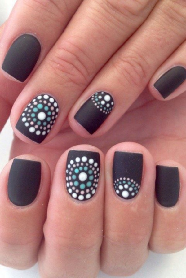 Best 101 sophisticated black nail art designs and ideas black nail art designs and ideas 14 prinsesfo Image collections