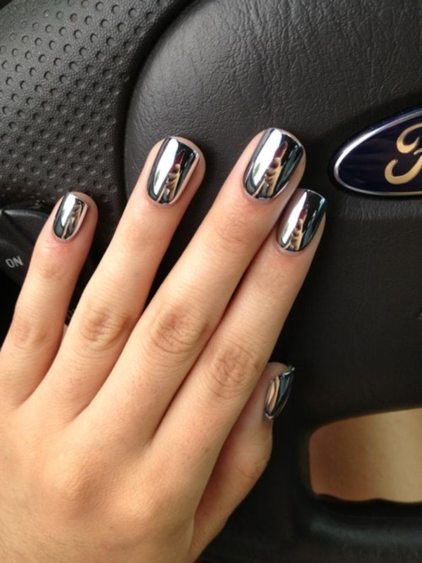 Black Nail Art Designs and Ideas (19) - Best 101 Sophisticated Black Nail Art Designs And Ideas