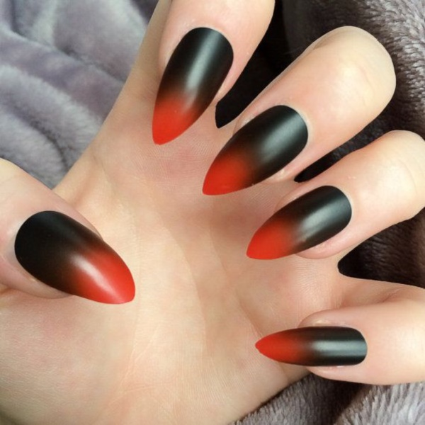 Black Nail Art Designs and Ideas (55) - Best 101 Sophisticated Black Nail Art Designs And Ideas