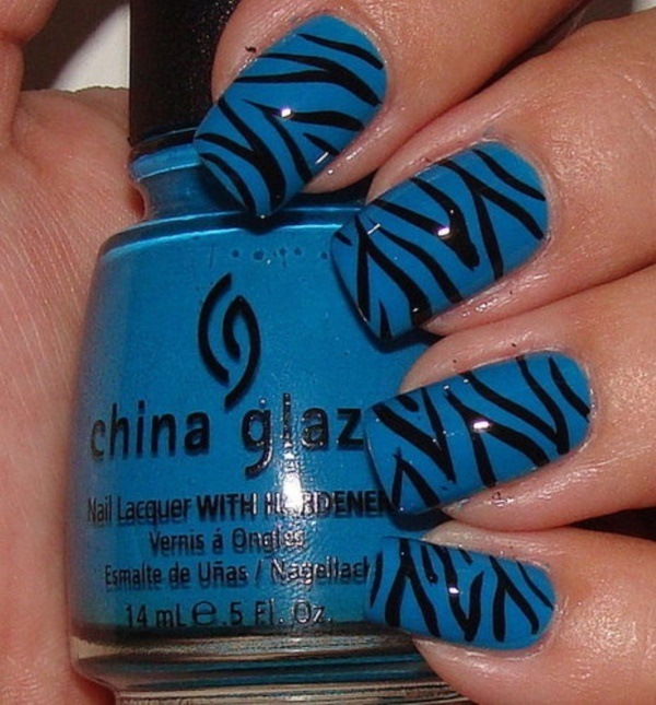 Black Nail Art Designs and Ideas (58) - Best 101 Sophisticated Black Nail Art Designs And Ideas