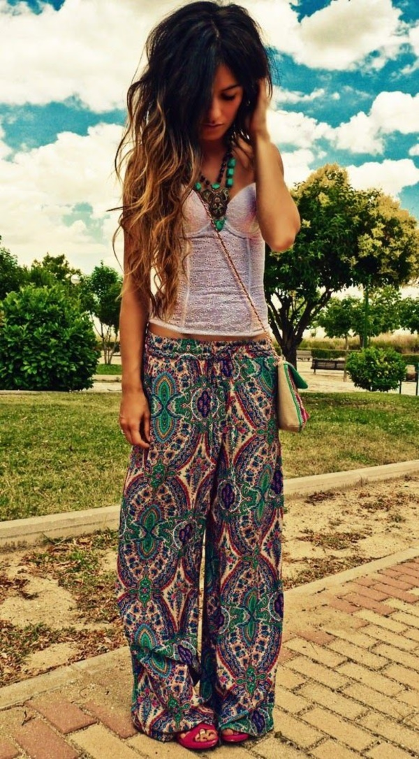 9e011a1eee 101 Boho Chic Fashion Outfits to feel the Hipster Look