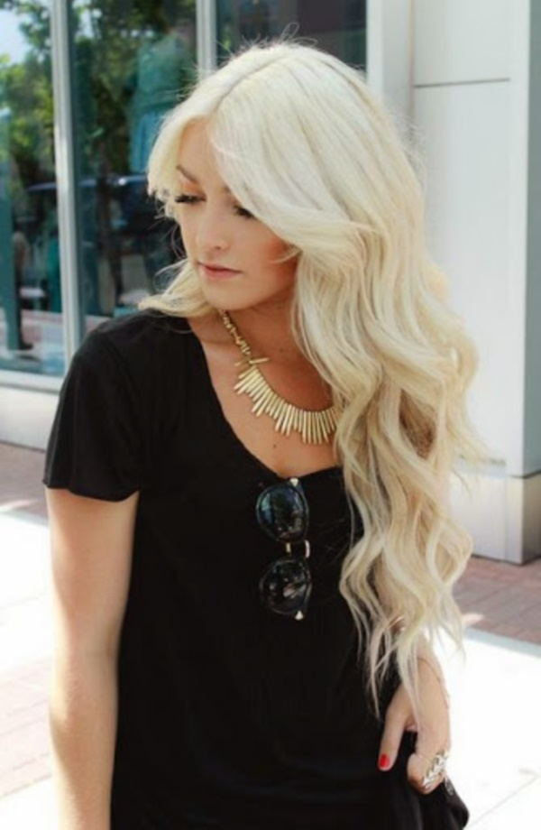 Cute Long and Short Blonde Hairstyles (5)