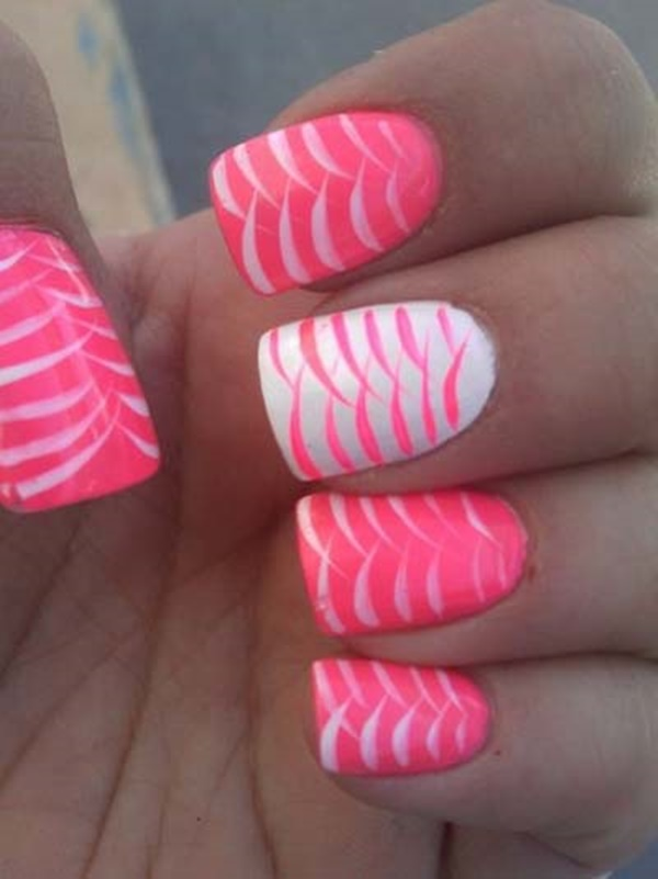 101 cute pink and white nails designs worth stealing cute pink and white nails designs 28 prinsesfo Choice Image
