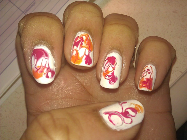 Cute Pink and White Nails Designs (37)