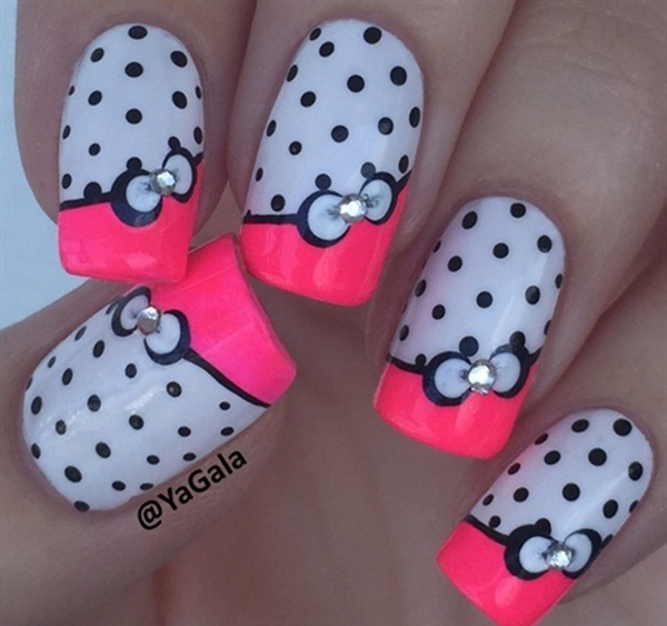 Cute Pink and White Nails Designs (39)