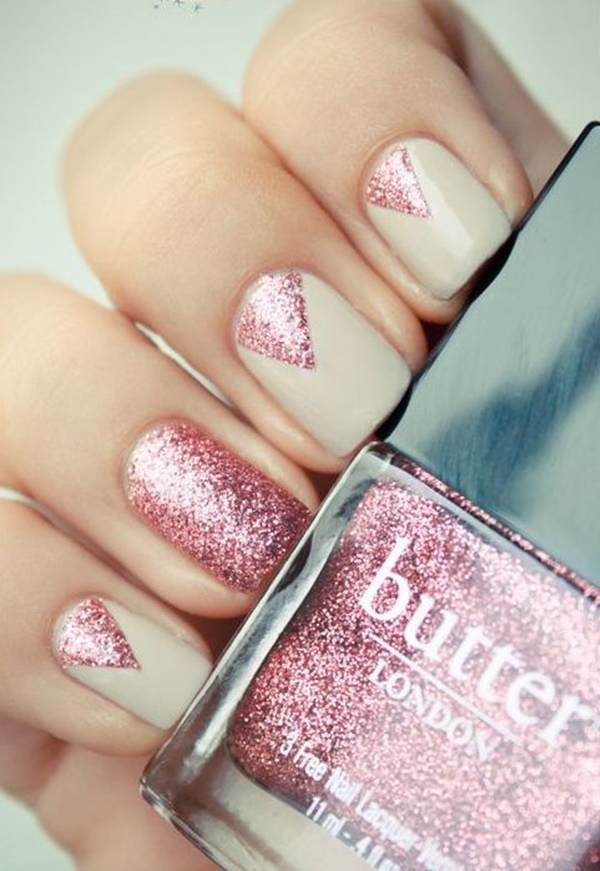 Cute Pink and White Nails Designs (4)