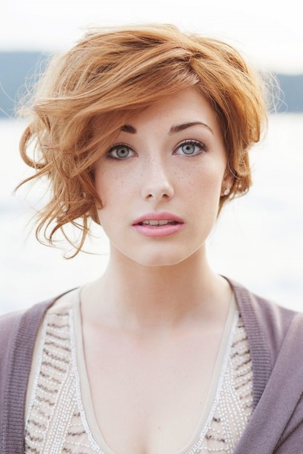 Cute and Short Hair styles for Women (21)