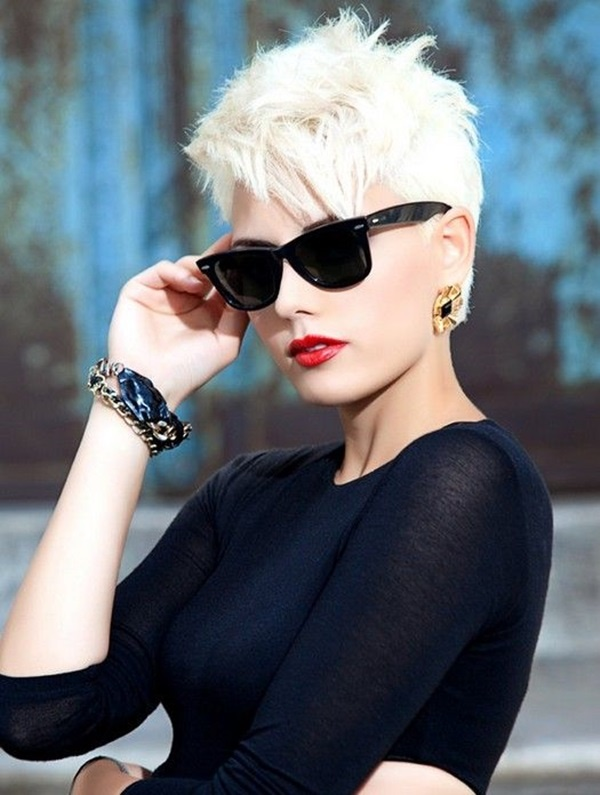 Cute and Short Hair styles for Women (22)