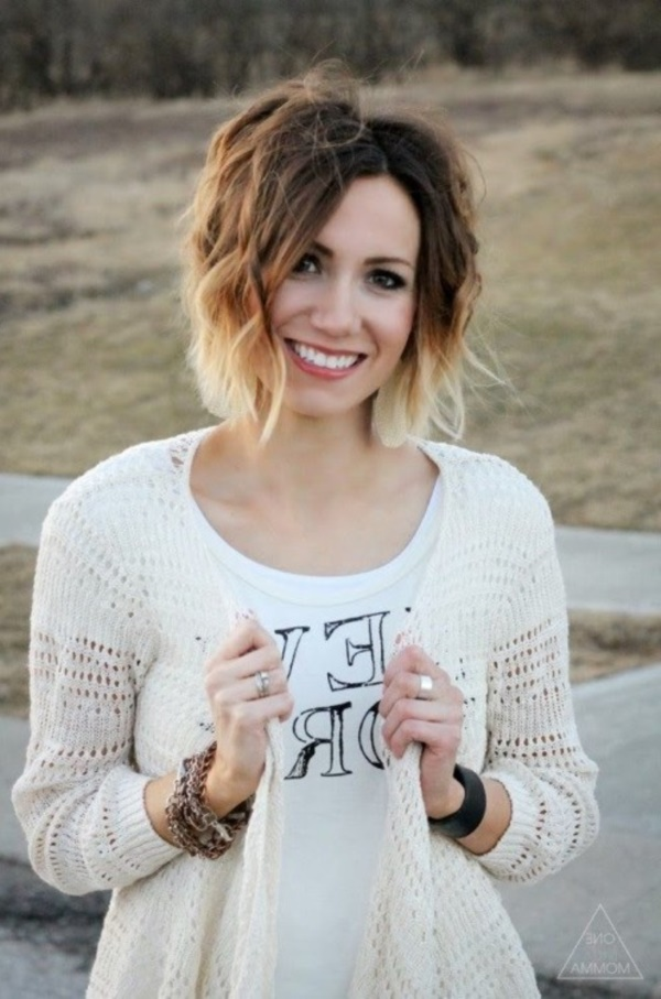 Cute and Short Hair styles for Women (42)