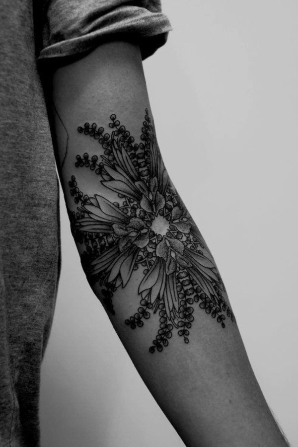 Flower Tattoo Designs for Women (1)