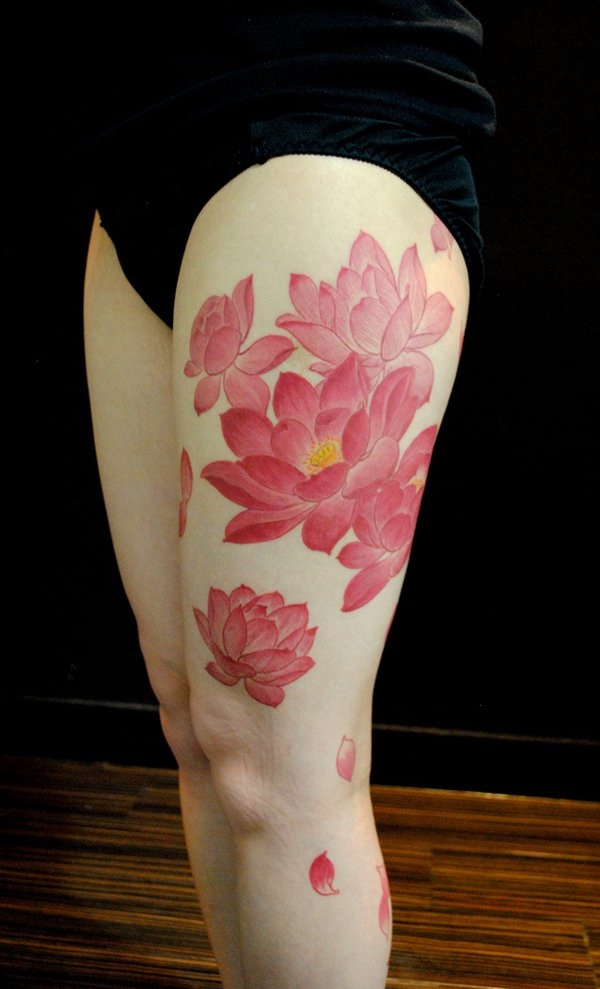 Flower Tattoo Designs for Women (10)