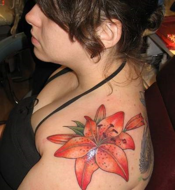 Flower Tattoo Designs for Women (11)