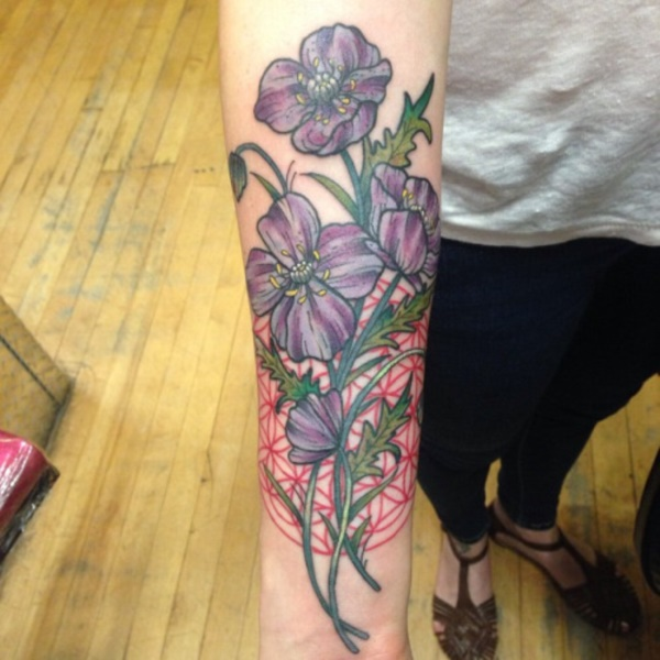 Flower Tattoo Designs for Women (12)
