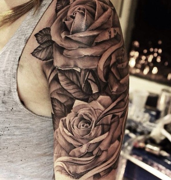Flower Tattoo Designs for Women (14)