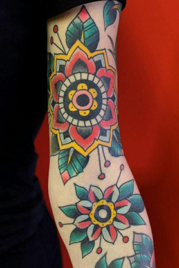 Flower Tattoo Designs for Women (17)