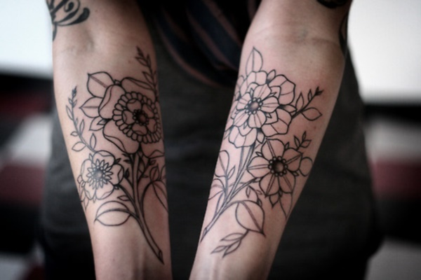 Flower Tattoo Designs for Women (19)