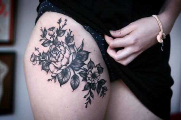 Flower Tattoo Designs for Women (28)