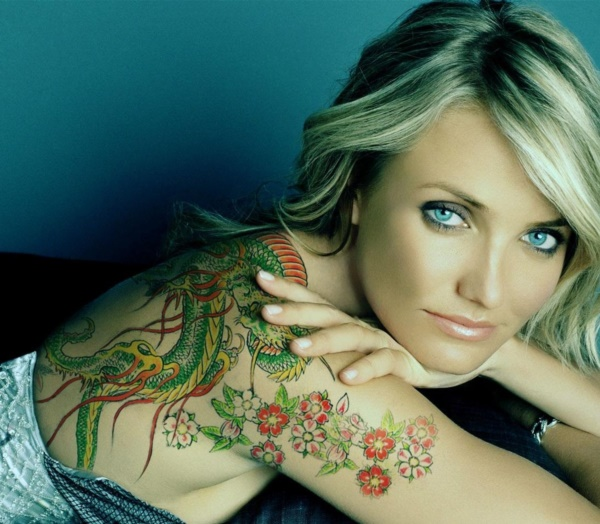 Flower Tattoo Designs for Women (3)
