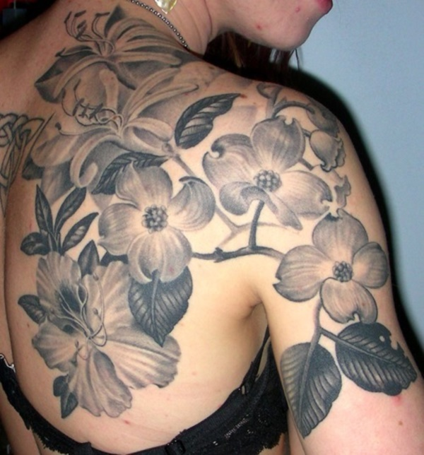 Flower Tattoo Designs for Women (32)