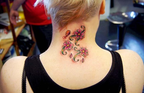 Flower Tattoo Designs for Women (39)