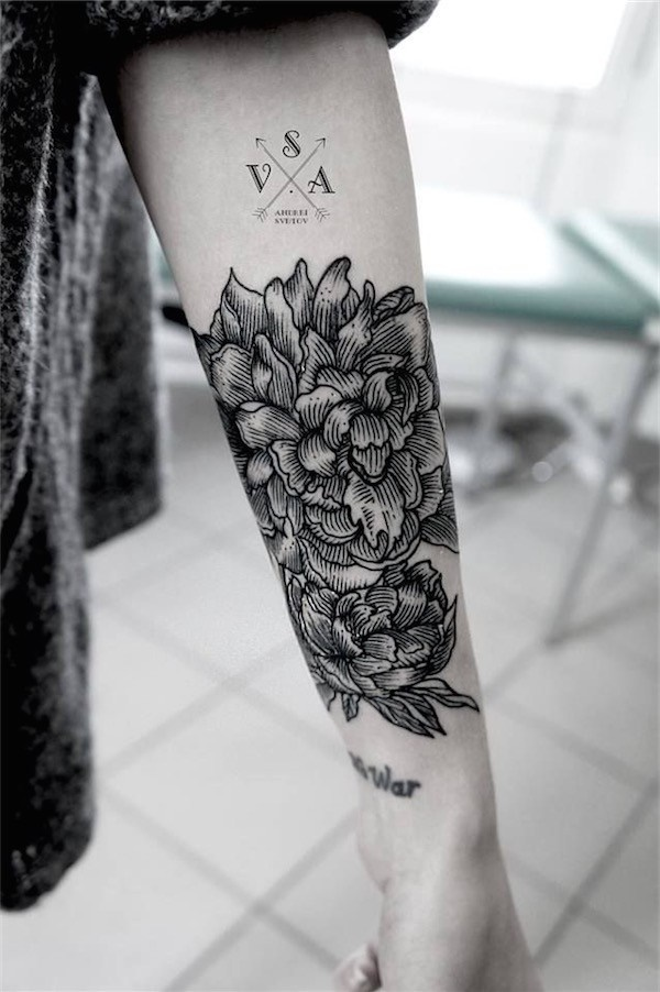 Flower Tattoo Designs For Women Unique: 101 Feminine Flower Tattoo Designs For Women
