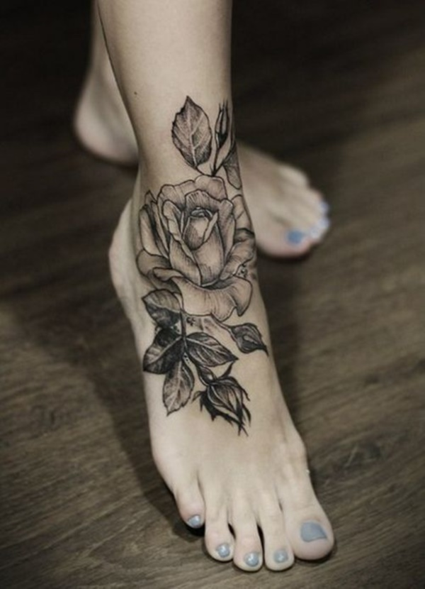 Flower Tattoo Designs for Women (5)