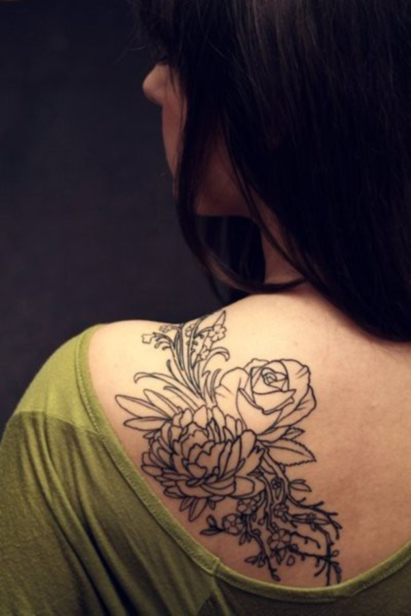 Flower Tattoo Designs for Women (6)