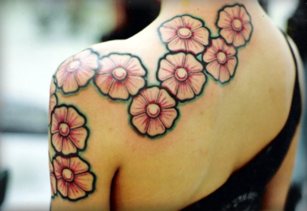 Flower Tattoo Designs for Women (7)